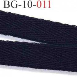 biais sergé galon ruban couleur bleu marine  largeur 10 mm vendu au mètre