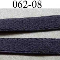 élastique plat largeur 8 mm couleur marron  vendu au mètre