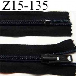 fermeture éclair longueur 15 cm couleur noir non séparable zip nylon largeur 3 cm largeur du zip 6 mm