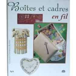 boites et cadres en fil par Clotilde Chevreau Kandel