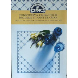 DMC broderie et point de croix variations pour nappes brodées