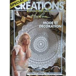 revue spécial créations crochet Haken mode et décoration
