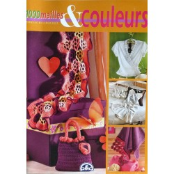 revue 1000 mailles et couleurs tricot et crochet