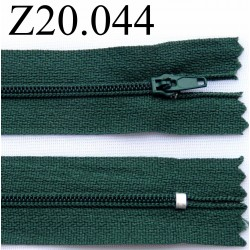 fermeture 20 cm couleur vert zip nylon