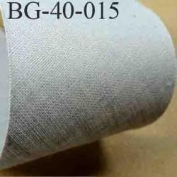 biais ruban galon a plat à plier en coton couleur gris largeur 4 cm vendue au mètre