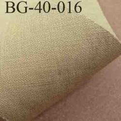 biais ruban galon a plat à plier en coton couleur beige largeur 4 cm vendue au mètre