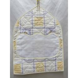 porte couche à broder coton imprimé