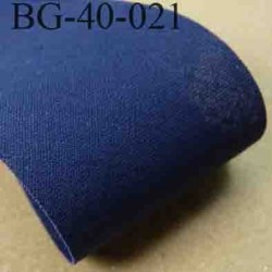 biais ruban galon a plat à plier en coton couleur bleu largeur 4 cm vendue au mètre