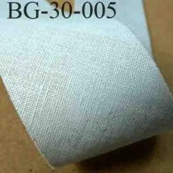 biais ruban galon a plat à plier en coton couleur gris largeur 2.5 cm vendue au mètre