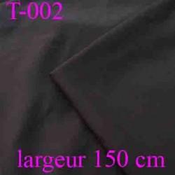tissus 44 % laine vierge 54 % polyéstère 2% elasthoanne couleur marron largeur 150 centimètre vendu au mètre linéaire