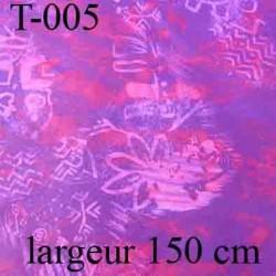 tissus synthétique couleur lumineux largeur 150 centimètre vendu au mètre linéaire