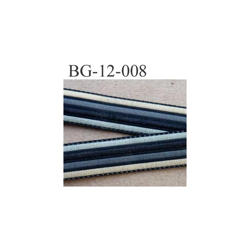 biais galon ruban couleur noir gris clair et fonc et beige tr s solide largeur 12 mm vendu au. Black Bedroom Furniture Sets. Home Design Ideas