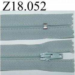 fermeture 18 cm couleur bleu zip nylon