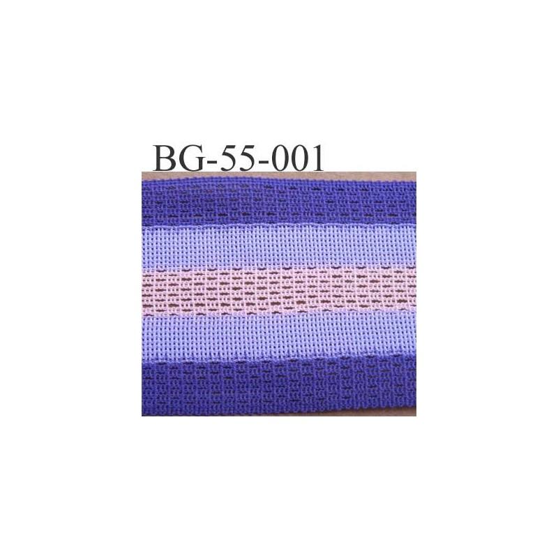 Biais galon ruban couleur violet parme et rose largeur 55 mm synth tique vend - Couleur parme et mauve ...