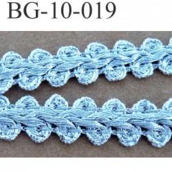 biais galon ruban couleur argent brillant comme un bracelet en argent superbe largeur 10 mm vendu au mètre