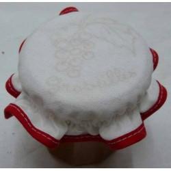charlotte couvre pot à confiture à broder groseilles