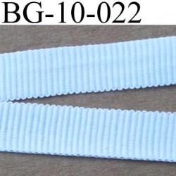 biais galon ruban gros grain couleur blanc très solide souple  double face largeur 10 mm vendu au mètre