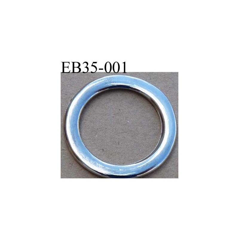 Boucle trier anneau m tal chrom diam tre ext rieur 3 5 for Diametre exterieur