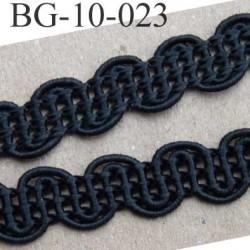 biais galon dentelle ruban largeur 10 mm couleur noir très solide vendue au mètre