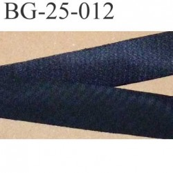 biais ruban galon a plat à plier couleur noir brillant largeur 2.5 cm le  mètre
