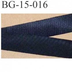 déstockage biais ruban galon a plat à plier couleur noir satiné largeur 1.5 cm le  mètre
