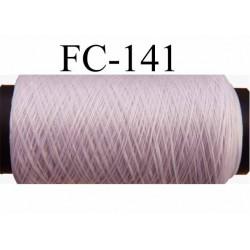 bobine de fil mousse polyamide couleur rose clair longueur 200 mètres largeur de la bobine 5.5 cm diamètre 2.5 cm
