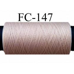 bobine de fil mousse polyamide couleur pèche rosé longueur 200 mètres largeur de la bobine 5.5 cm diamètre 2.5 cm