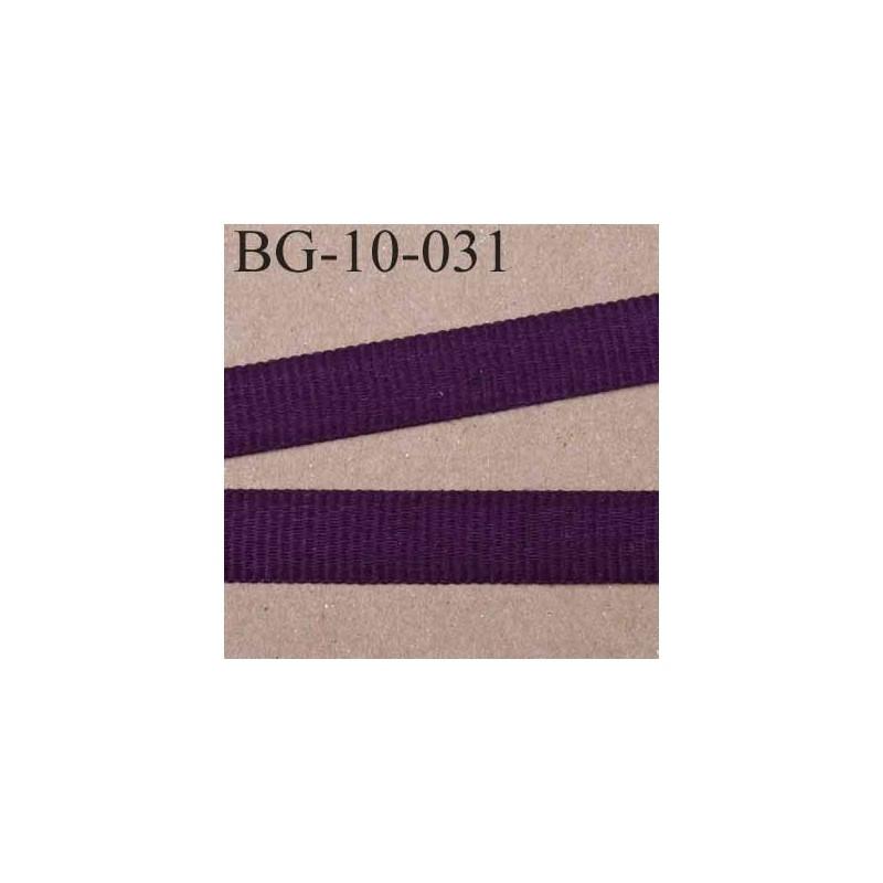 biais galon couleur prune violet fonc cotel gros grain largeur 10 mm vendu au m tre mercerie. Black Bedroom Furniture Sets. Home Design Ideas