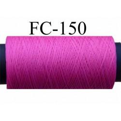 bobine de fil mousse polyamide couleur rose fushia longueur 200 mètres largeur de la bobine 5.5 cm diamètre 2.5 cm