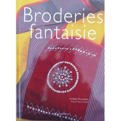 broderie fantaisie d'Amélie Rousseau