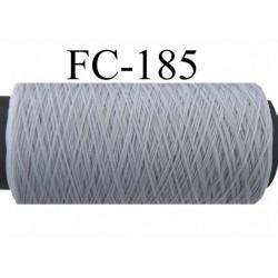 bobine de fil mousse nylon n° 120 couleur gris longueur 200 mètres largeur de la bobine 5.5 cm diamètre 2.5 cm