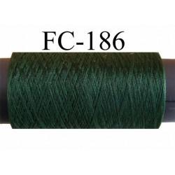 bobine de fil mousse polyester texturé couleur vert longueur 200 ou de 500 mètres fabriqué en France