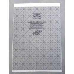 carré rectangle pièce de tissus LUCAS DELLI collector