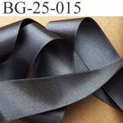 biais galon ruban satin couleur gris anthracite double face superbe largeur 25 mm vendu au mètre
