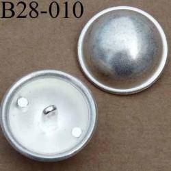 bouton 28 mm métal patiné accroche un anneau diamètre 28 mm