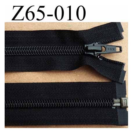 aaa52d1f3db35 fermeture éclair YKK longueur 65 cm couleur noir séparable largeur 3.2 cm  largeur du zip spirale
