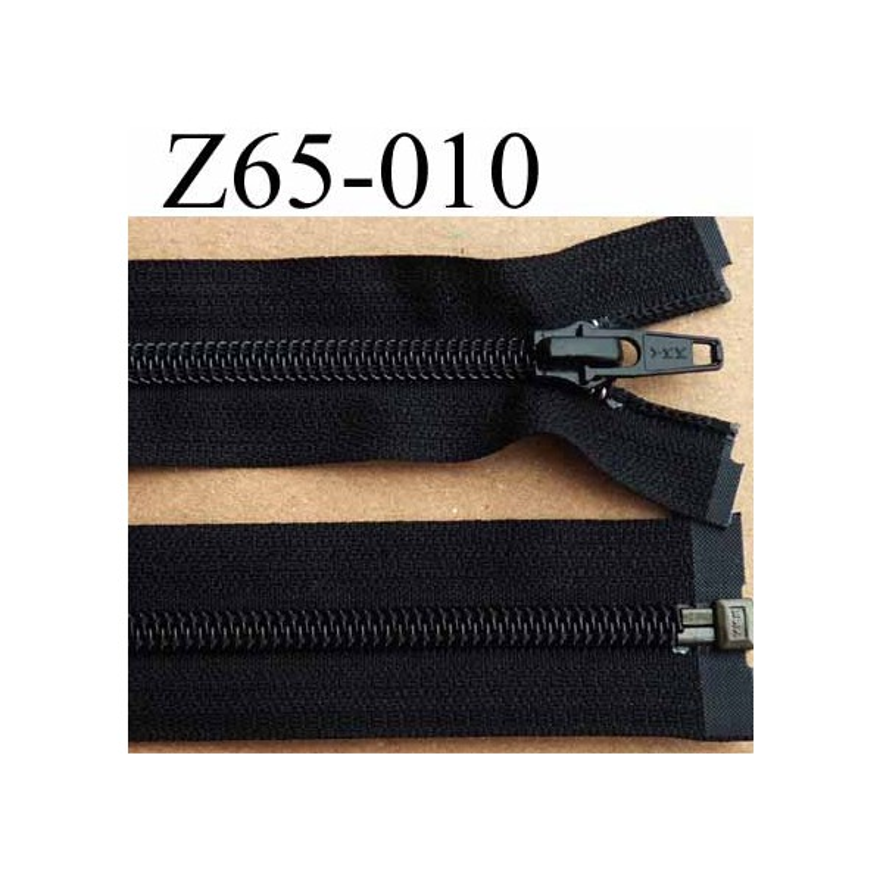 5207ff0c30199 fermeture éclair YKK longueur 65 cm couleur noir séparable largeur 3.2 cm  largeur du zip spirale. Loading zoom