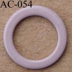 anneau métallique plastifié couleur lilas brillant laqué pour soutien gorge diamètre 13 mm vendu à l'unité haut de gamme