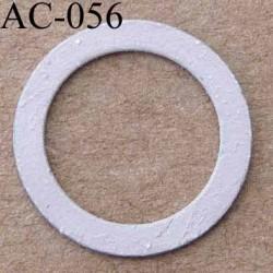 anneau métallique couleur lilas mat pour soutien gorge diamètre 13 mm vendu à l'unité
