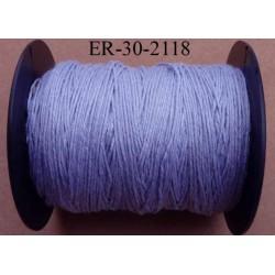 Echevette coton retors réf couleur 2118 parme art 89 longueur de bobine 300 m soit 30 échevettes de 10 m 23 cts l'échevette