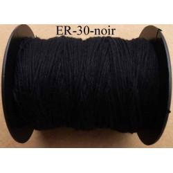 Echevette coton retors réf couleur noir art 89 longueur de bobine 300 m soit 30 échevettes de 10 m 23 cts l'échevette