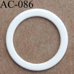 anneau métallique plastifié couleur naturel brillant diamètre extérieur 14 mm intérieur 10 mm vendu à l'unité haut de gamme