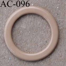 anneau métallique plastifié couleur chair brillant diamètre extérieur 14 mm intérieur 10 mm vendu à l'unité haut de gamme