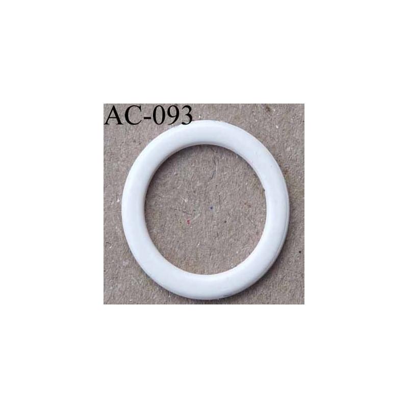 Anneau m tallique plastifi couleur perle brillant for Diametre exterieur