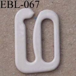 crochet en métal 10 mm couleur chair brillant pour soutien gorge vendu à l'unite haut de gamme