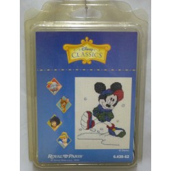kit à broder disney classics  MICKEY royal paris réf 6.430.62