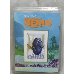kit à broder disney pixar LE MONDE DE NEMO royal paris réf  9880.6430.0082