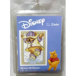 kit à broder disney WINNIE 13 X 19 cm royal paris réf 6.430.68