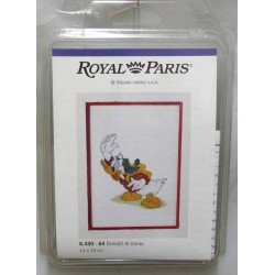 kit à broder disney DONALD 13 X 19 cm royal paris réf 6.430.64