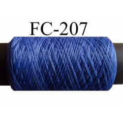 bobine de fil mousse polyamide couleur bleu longueur 200 ou de 500 mètres fabriqué en France